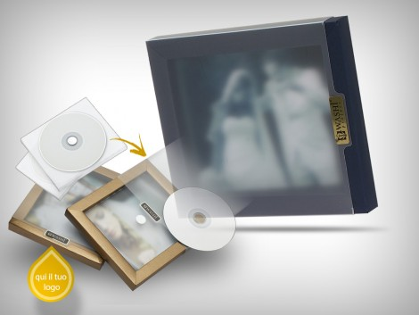 Custodie Cd - rom / Dvd | FRAME BOX