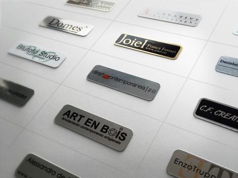 Etichette Adesive Metal
